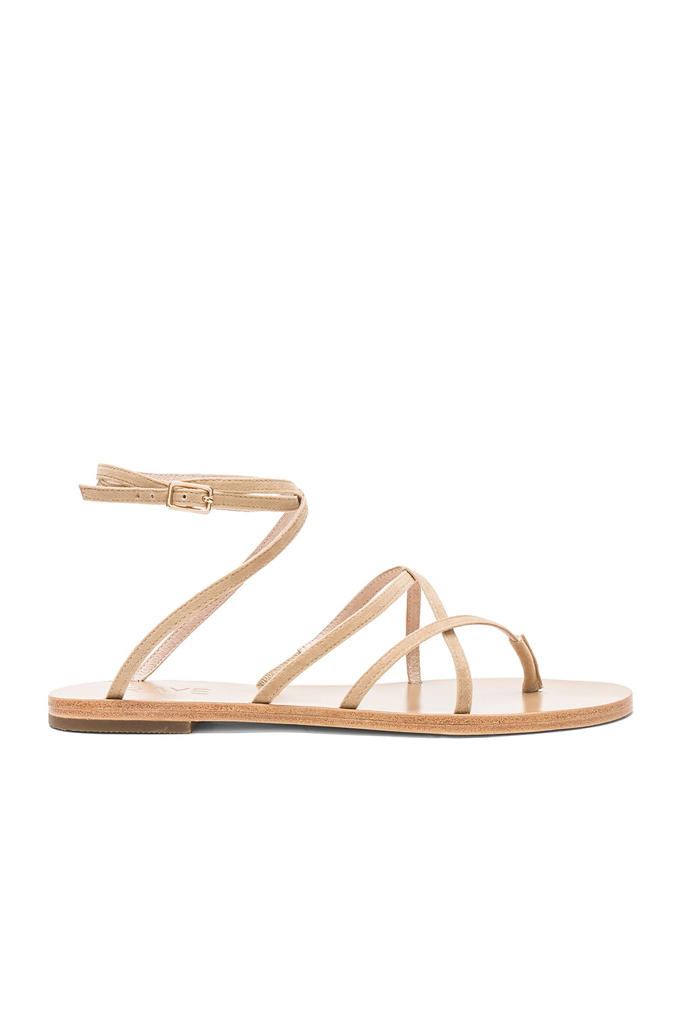 RAYE Coy Sandal in Tan