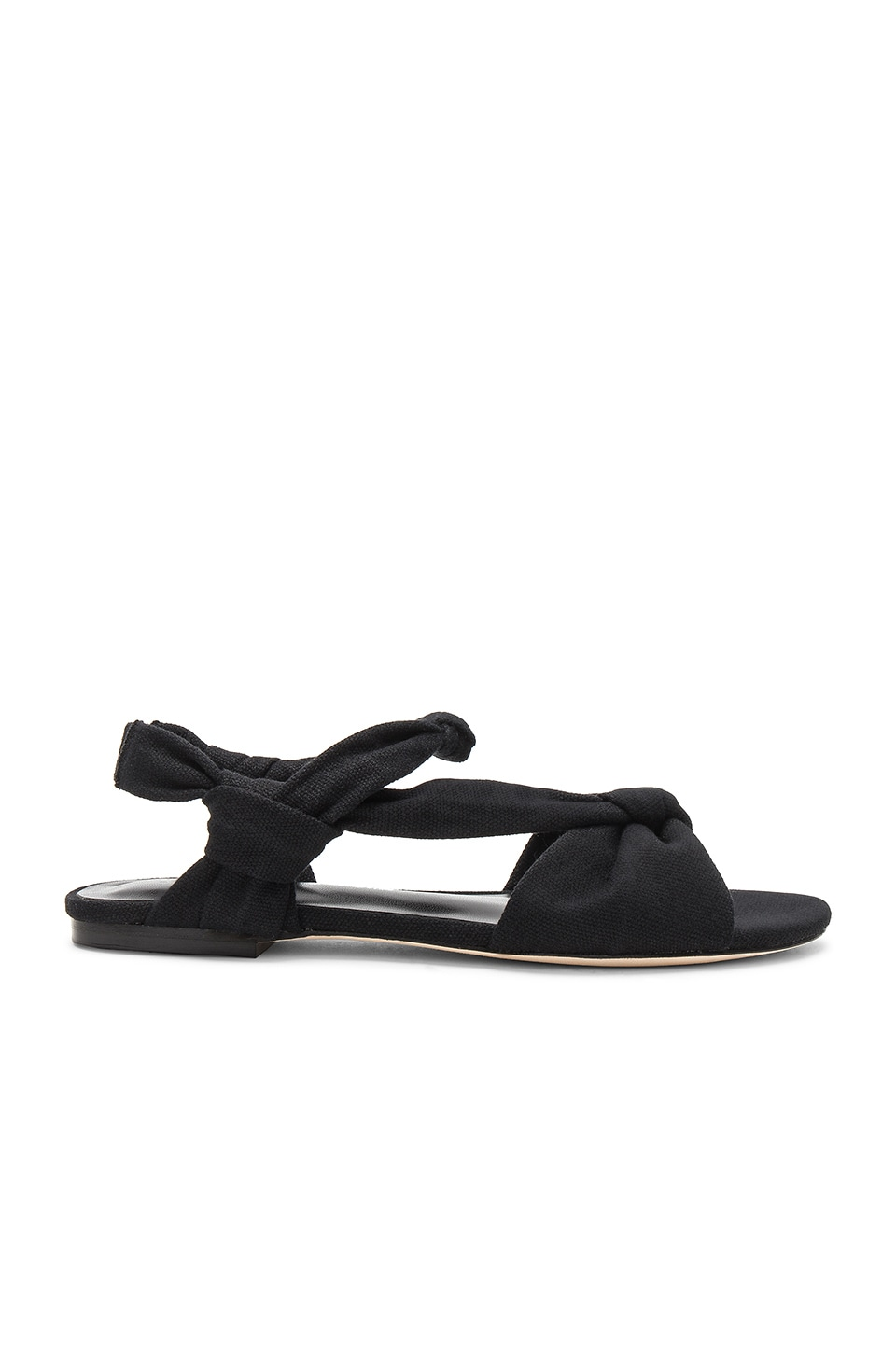 RAYE x House Of Harlow 1960 Micol Sandal in Black