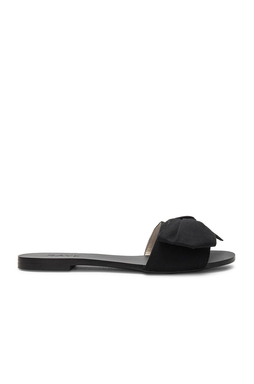 RAYE Leah Slide in Black
