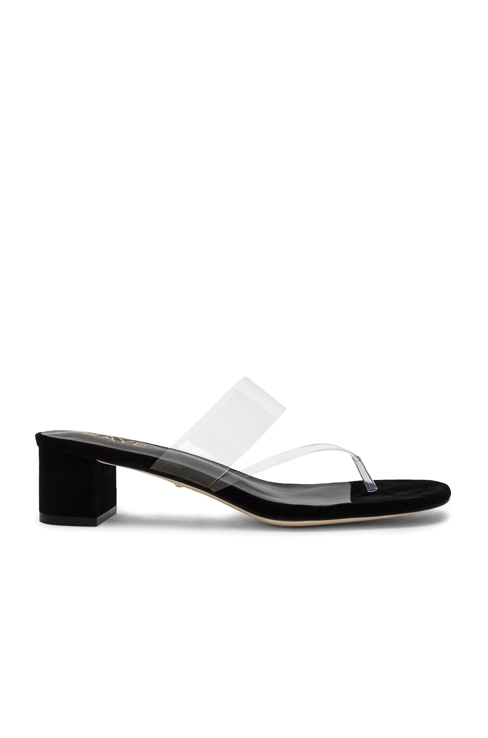 RAYE Nova Sandal in Black