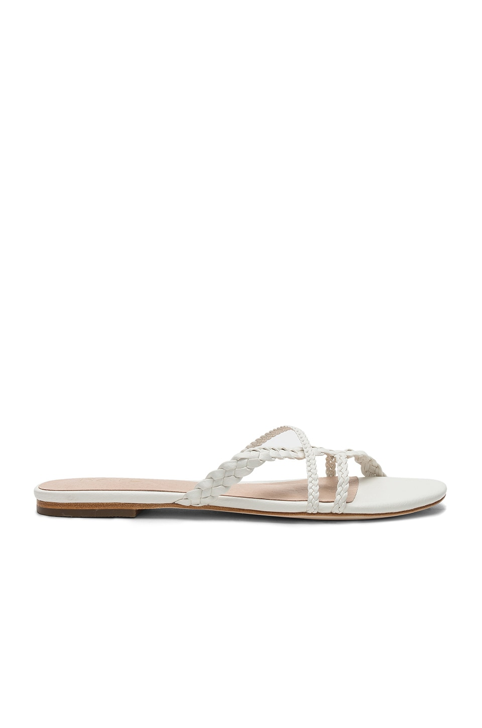 RAYE Emily Sandal in White