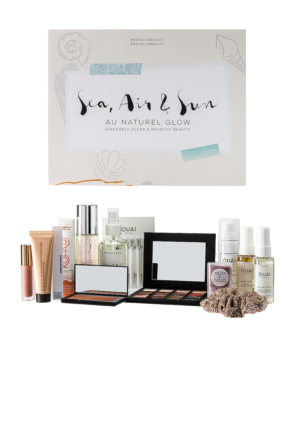 REVOLVE Beauty x Sincerely Jules Sea, Air, & Sun Au Naturel Glow