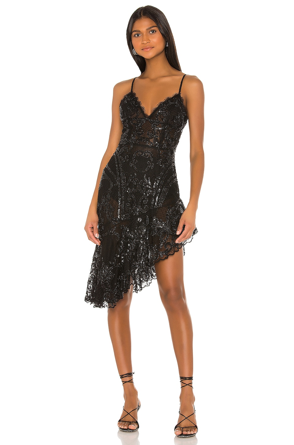 Rêve Riche REVE RICHE Dalila Dress in Black