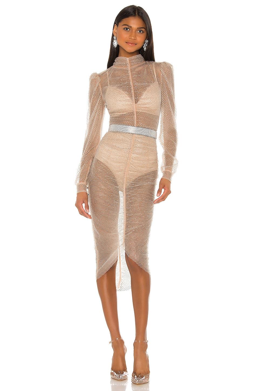 Rêve Riche Armin Dress in Nude