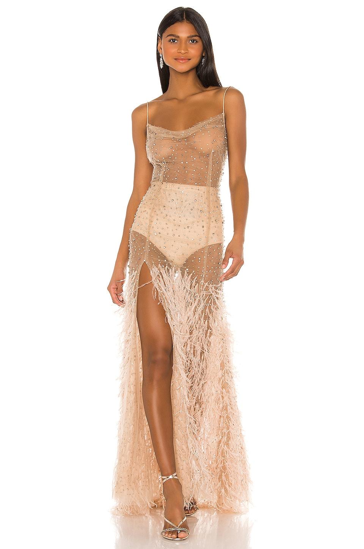 Rêve Riche REVE RICHE Mayrem Dress in Dusty Rose