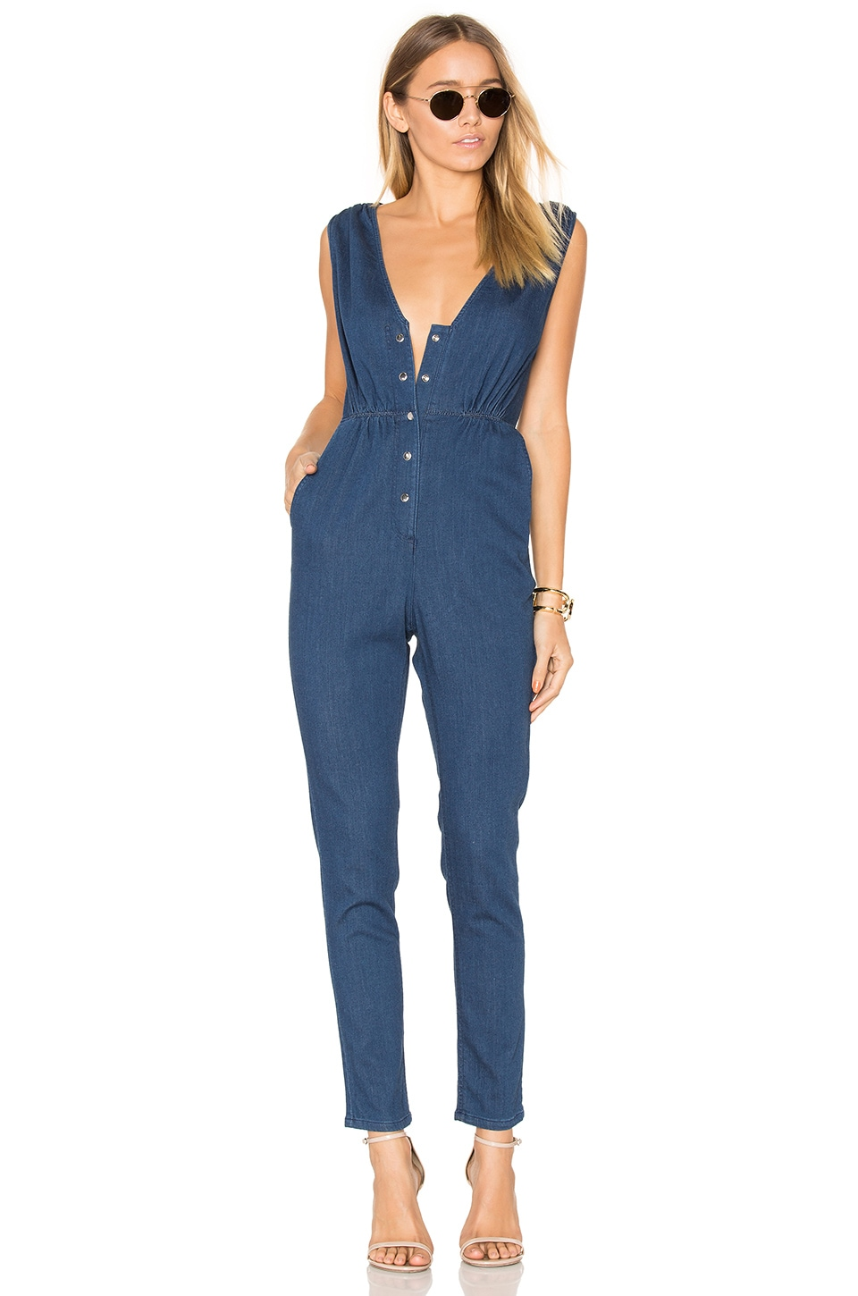 Rachel Comey Diversion Jumpsuit in Indigo