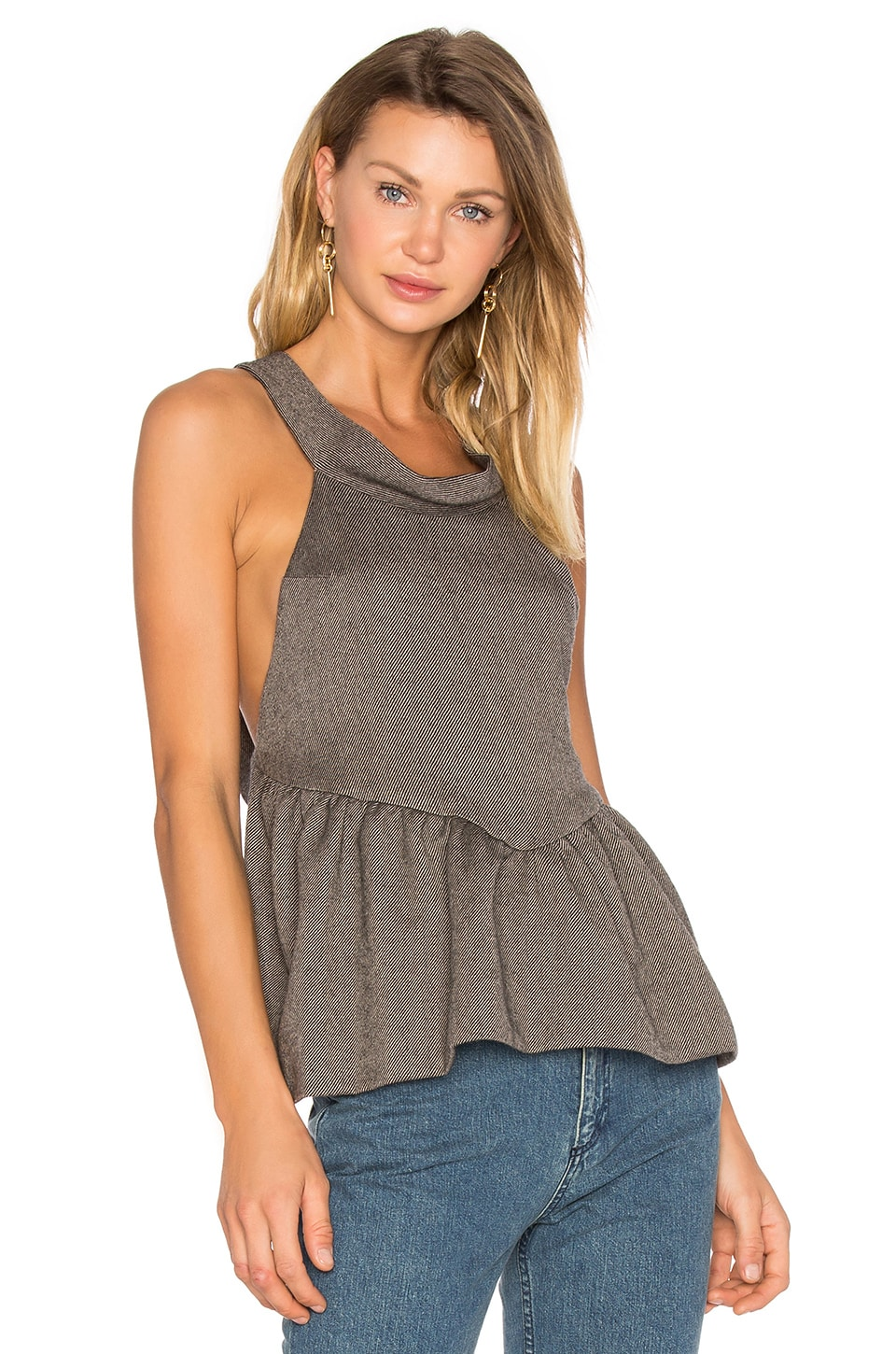 Rachel Comey Persuasuve Top in Charcoal