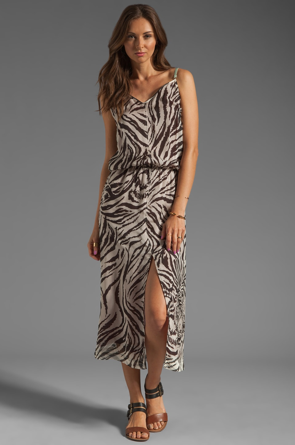 ROSEanna Burning Maxi Dress in Tiger