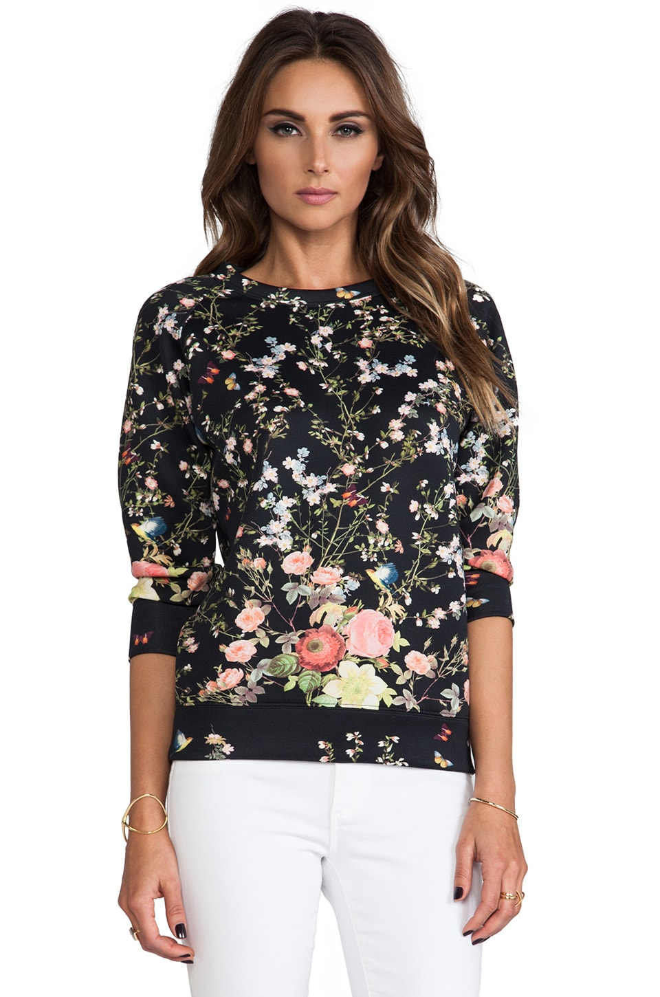 ROSEanna Neo James Sweater in Noir