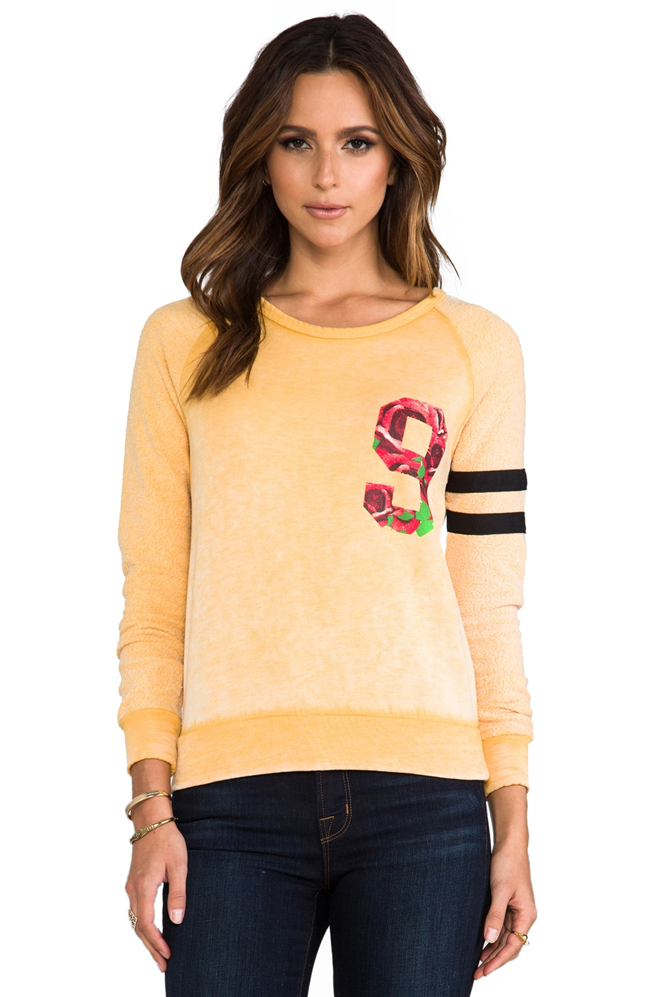 Rebel Yell Viva Rose Little Sis Lounger in Mustard