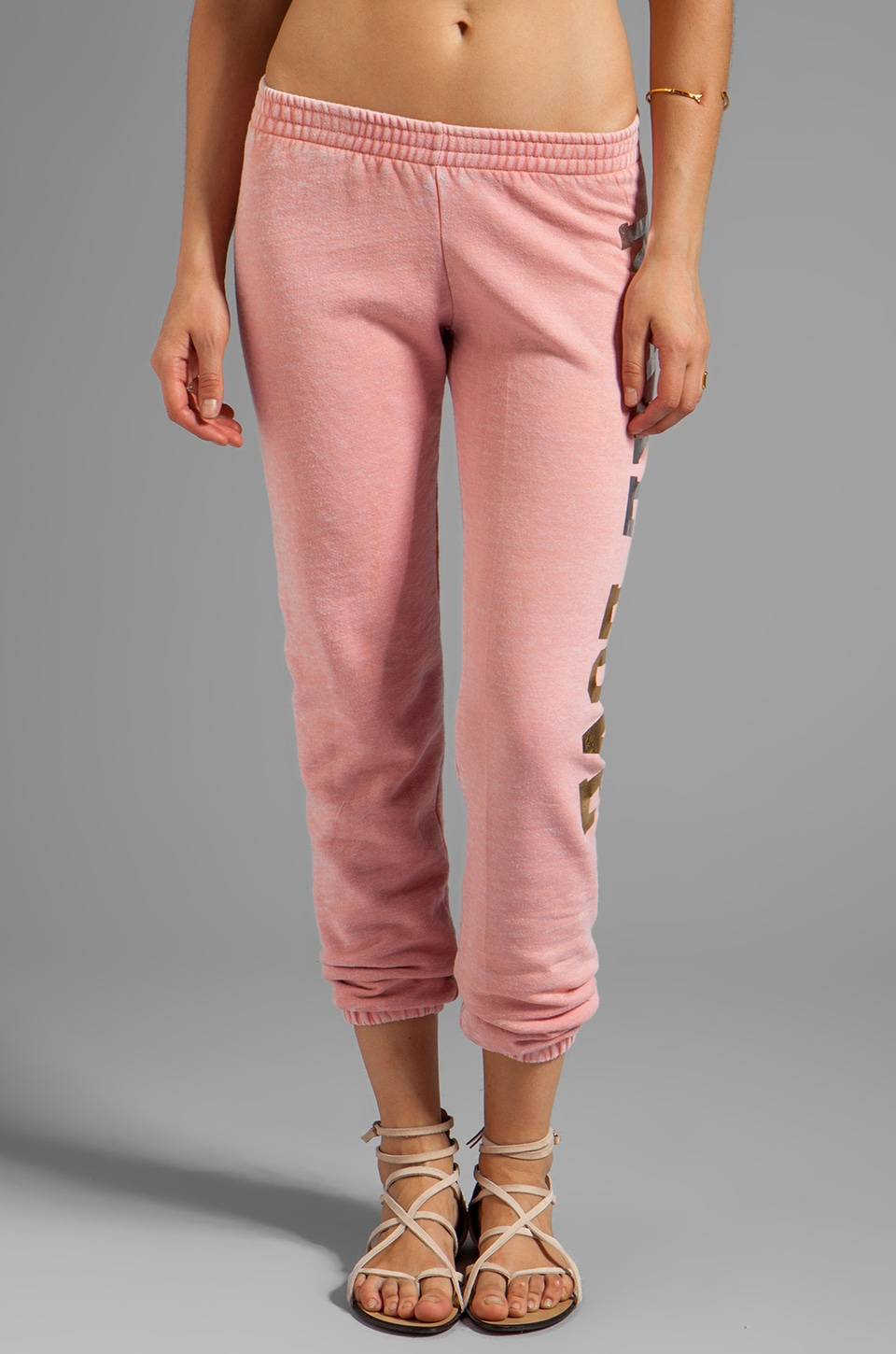 Rebel Yell Make Love Skinny Pant in Hot Pink