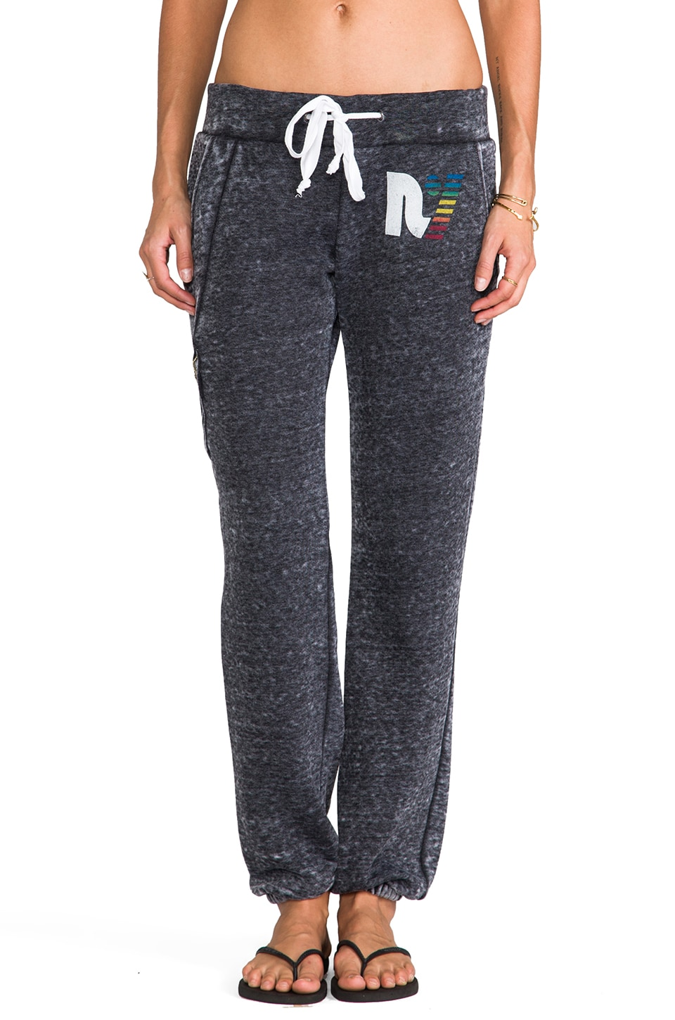 Rebel Yell Jogging Pants in Heather Gray