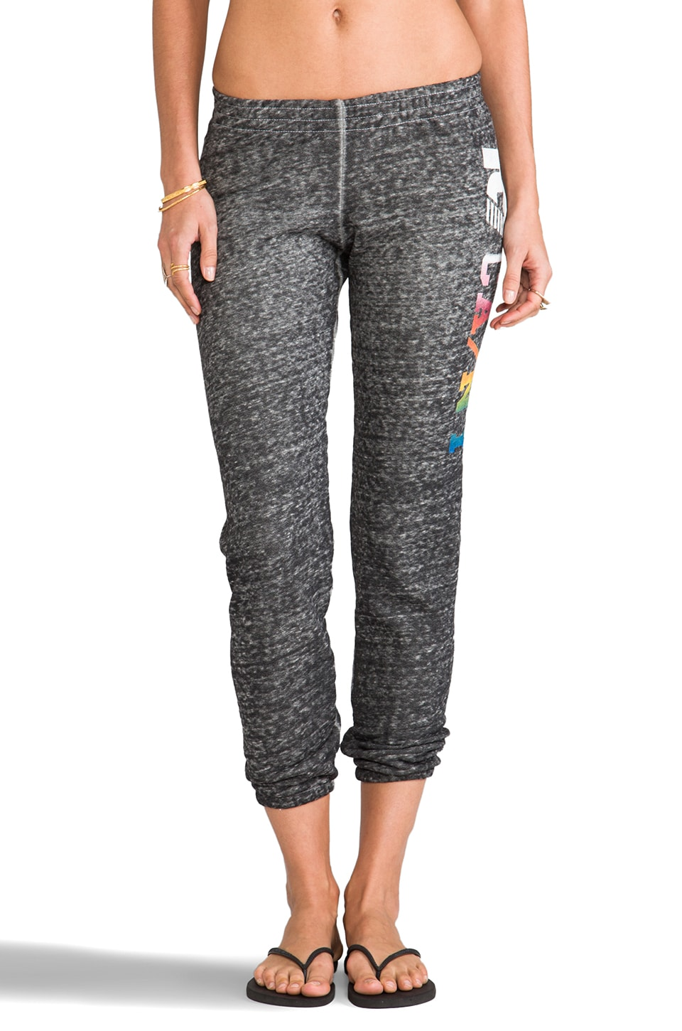 Rebel Yell CA/NY Skinny Pant in Heather Gray