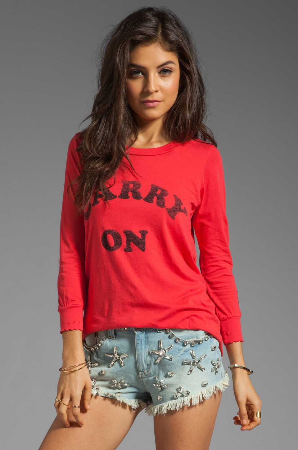 Rebel Yell Cross Country Crew in Rebel Red
