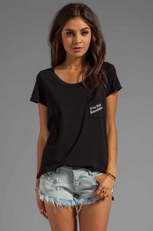 Rebel Yell Sunshine Pocket Tunic in Black