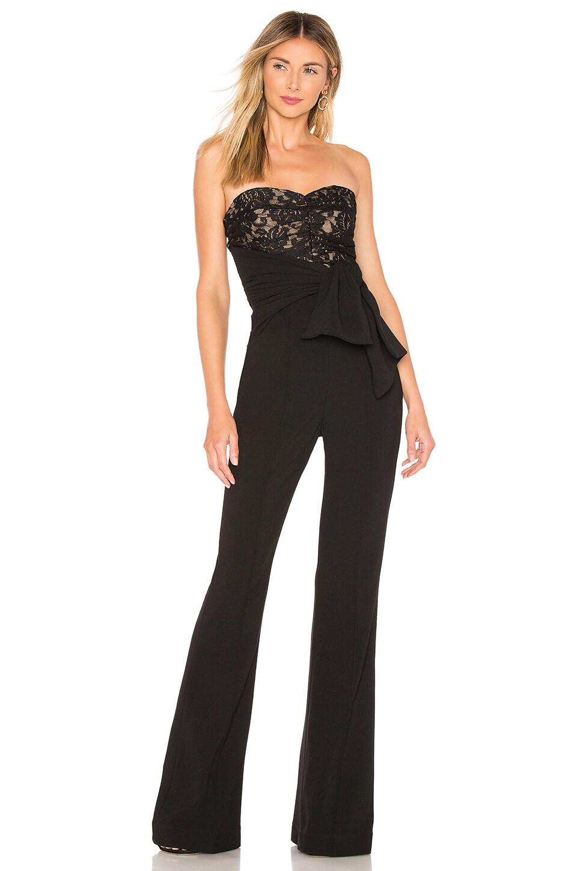 Rebecca Vallance Betty Jumpsuit in Black