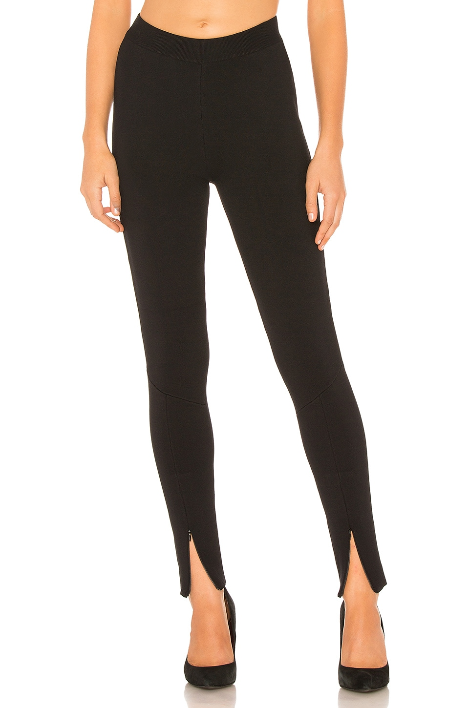 Rebecca Vallance Violet Knit Pant in Black