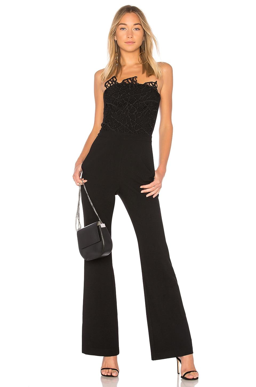Rebecca Vallance Sophia Jumpsuit in Black