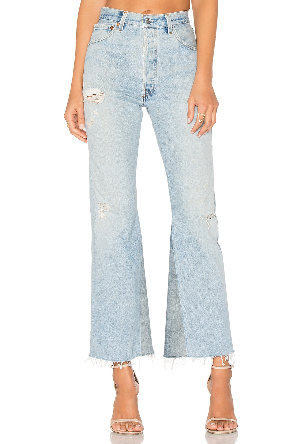 Levis Leandra High Rise Crop Flare