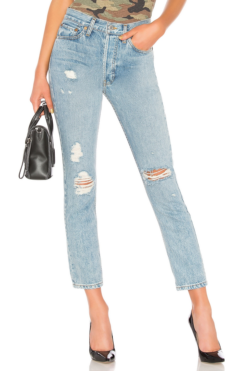 Originals High Rise Straight Jean