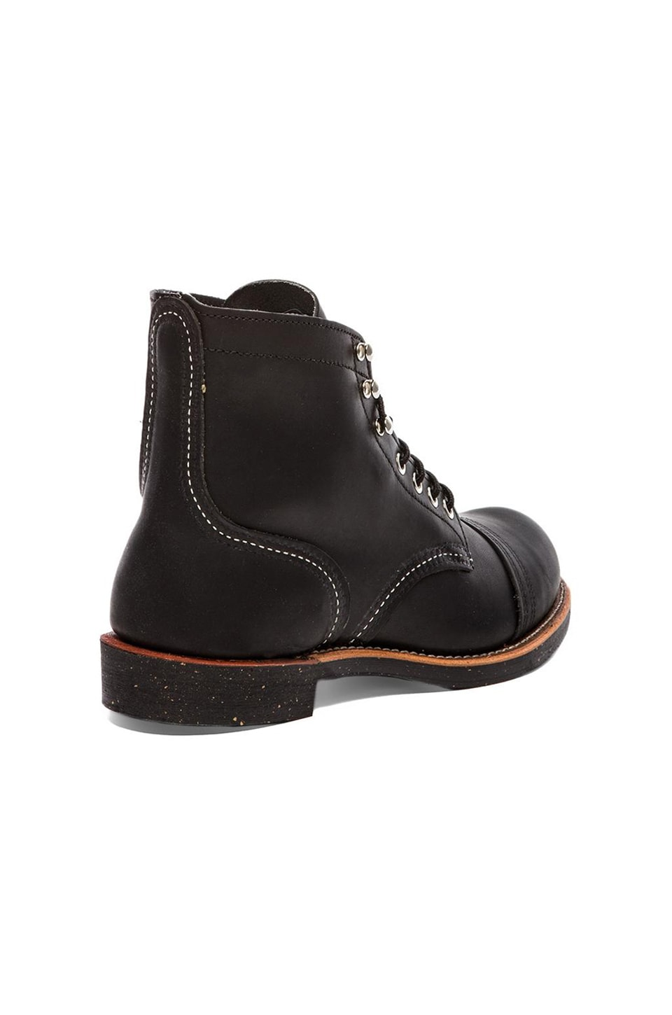 "Red Wing Shoes Iron Ranger 6"" Iron Ranger in Black Harness"