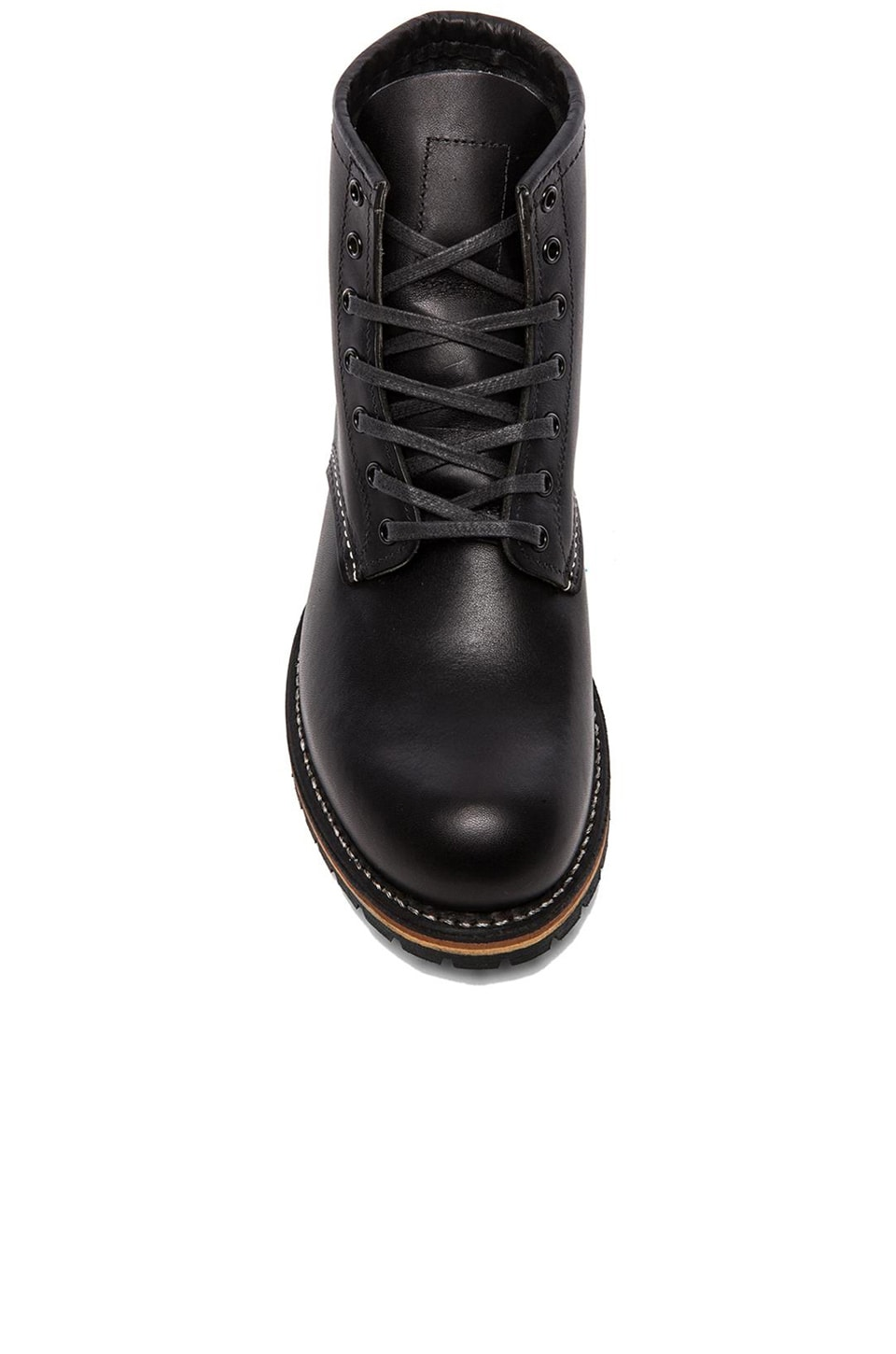 "Red Wing Shoes Beckman 6"" Classic Round in Black Featherstone"