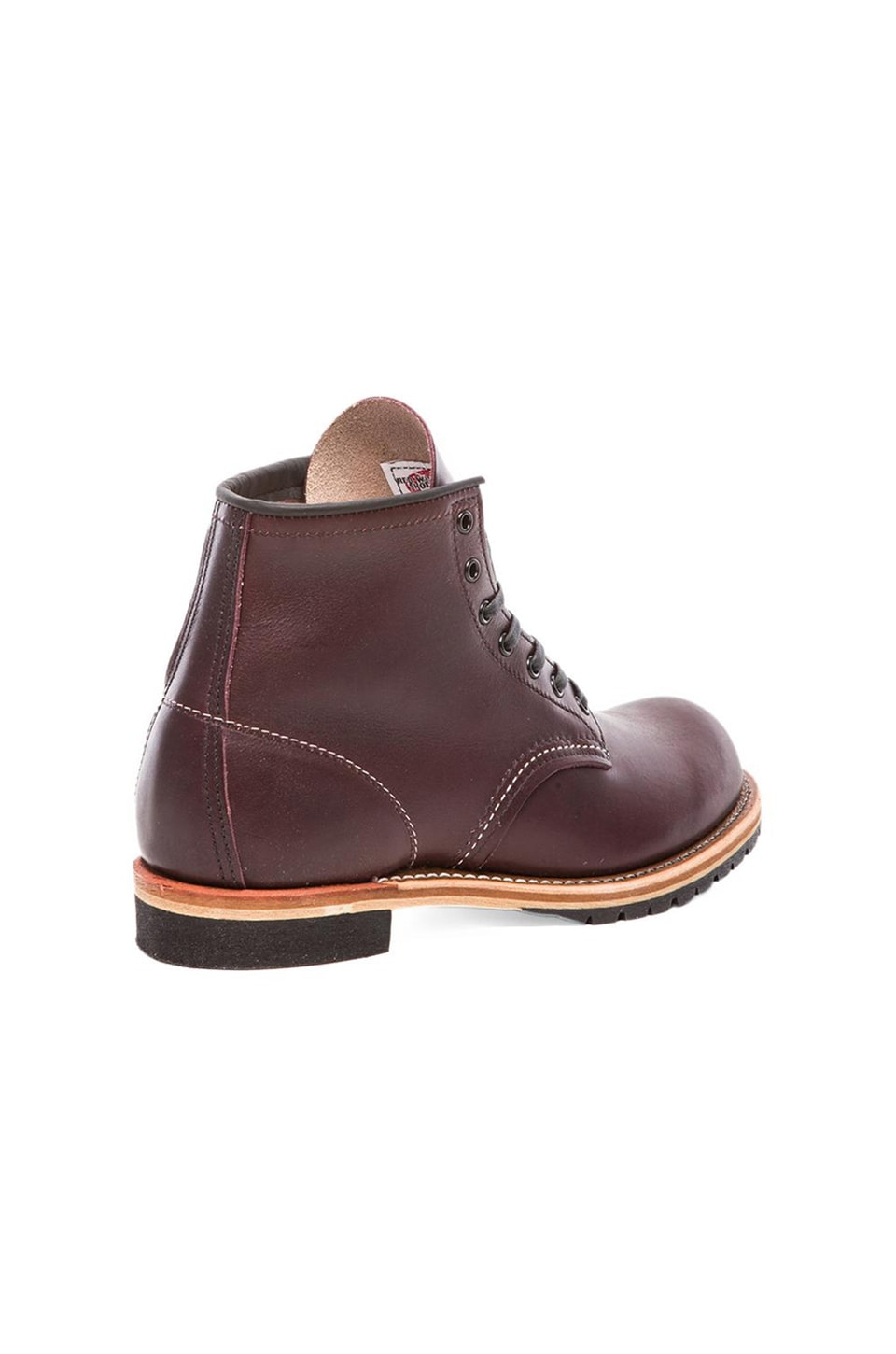 "Red Wing Shoes Beckman 6"" Round in Black Cherry Featherstone"