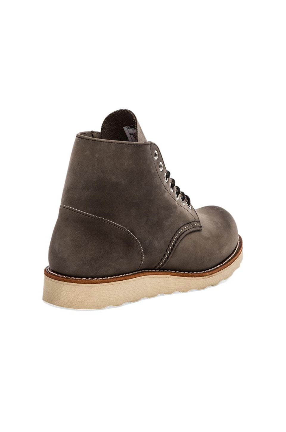 "Red Wing Shoes Classic 6"" Round Toe in Gray"