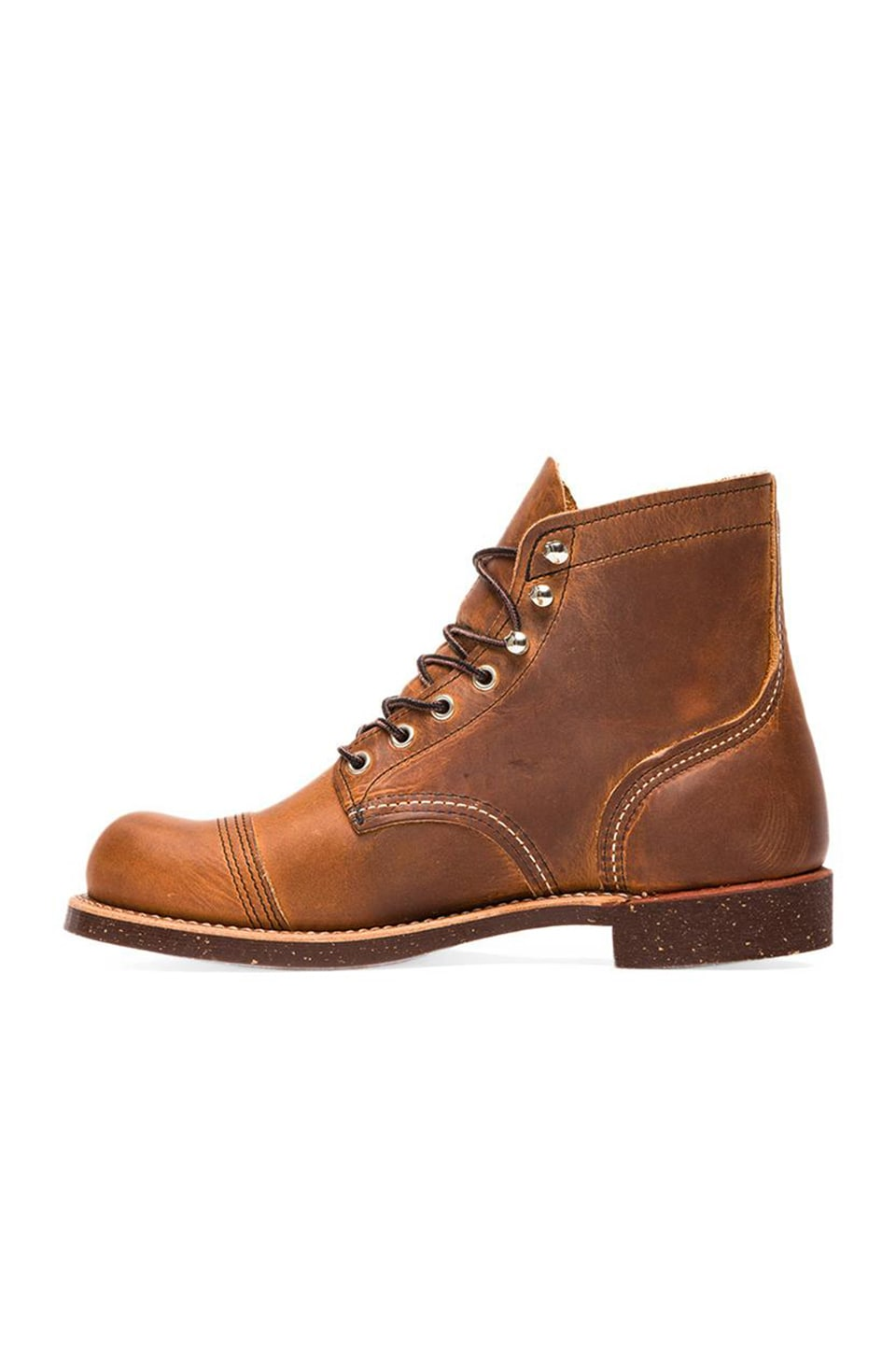 Red Wing Shoes Iron Ranger in Copper Rough & Tough
