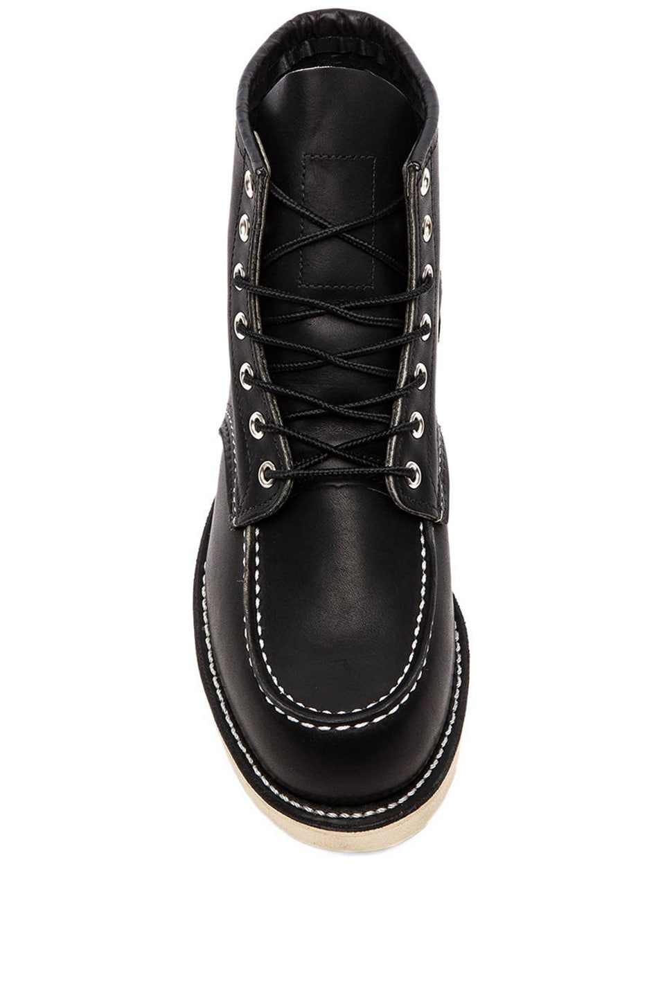 "Red Wing Shoes 6"" Moc Toe in Black Harness"