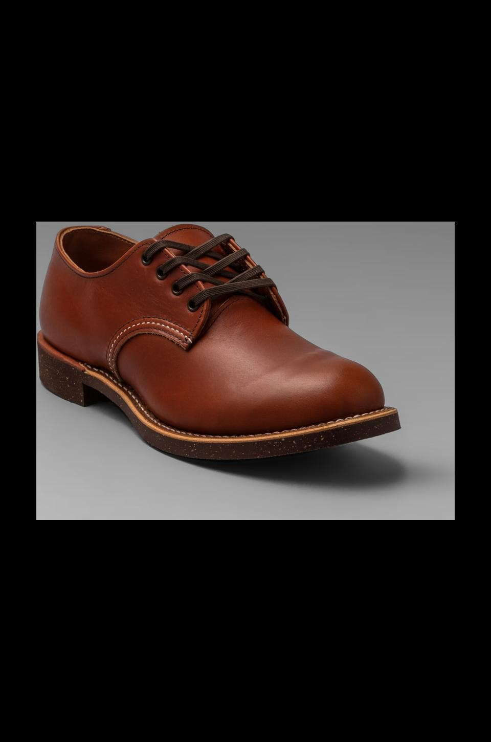 Red Wing Shoes Work Oxford in Brick Settler
