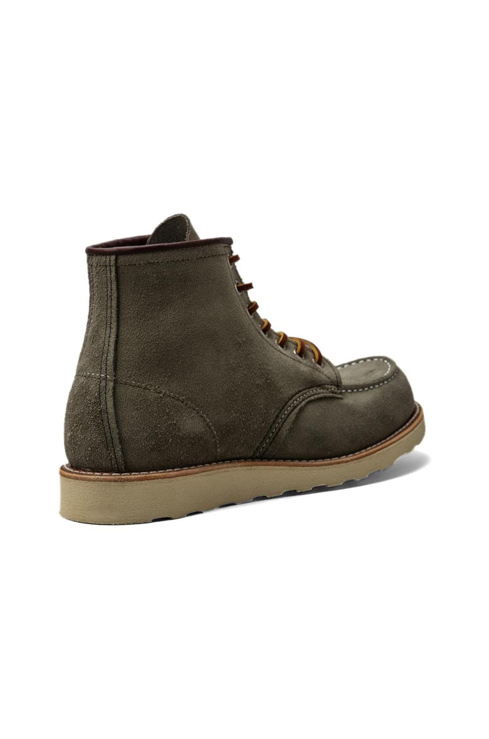 "Red Wing Shoes 6"" Moc Toe in Sage Mohave"