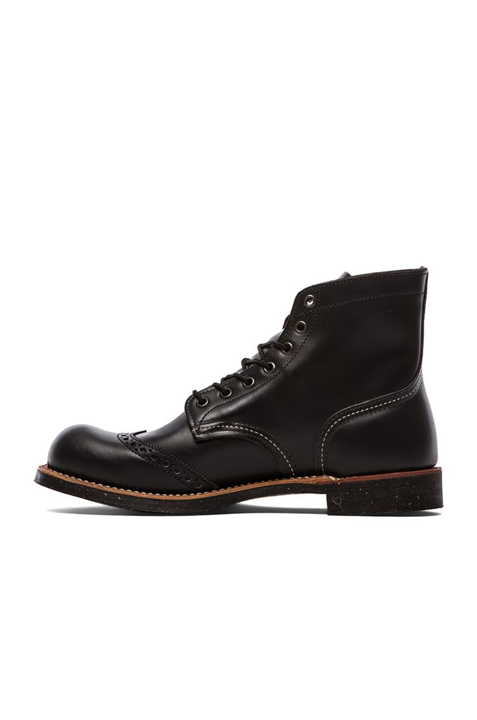 "Red Wing Shoes 6"" Brogue Ranger in Black Chapparral"