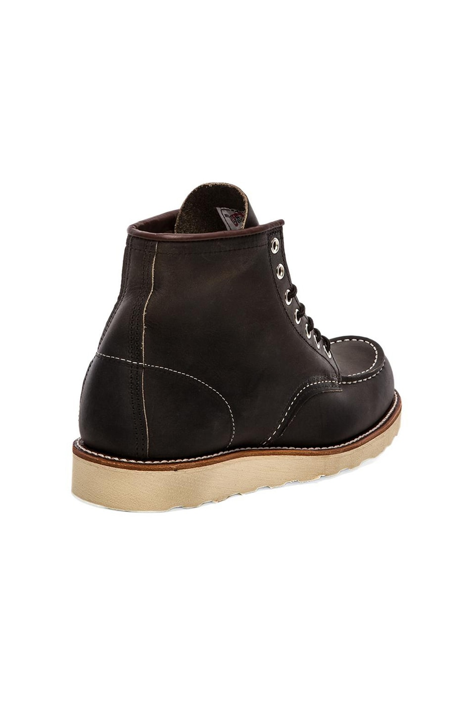 "Red Wing Shoes 6"" Moc in Charcoal Rough & Tough"