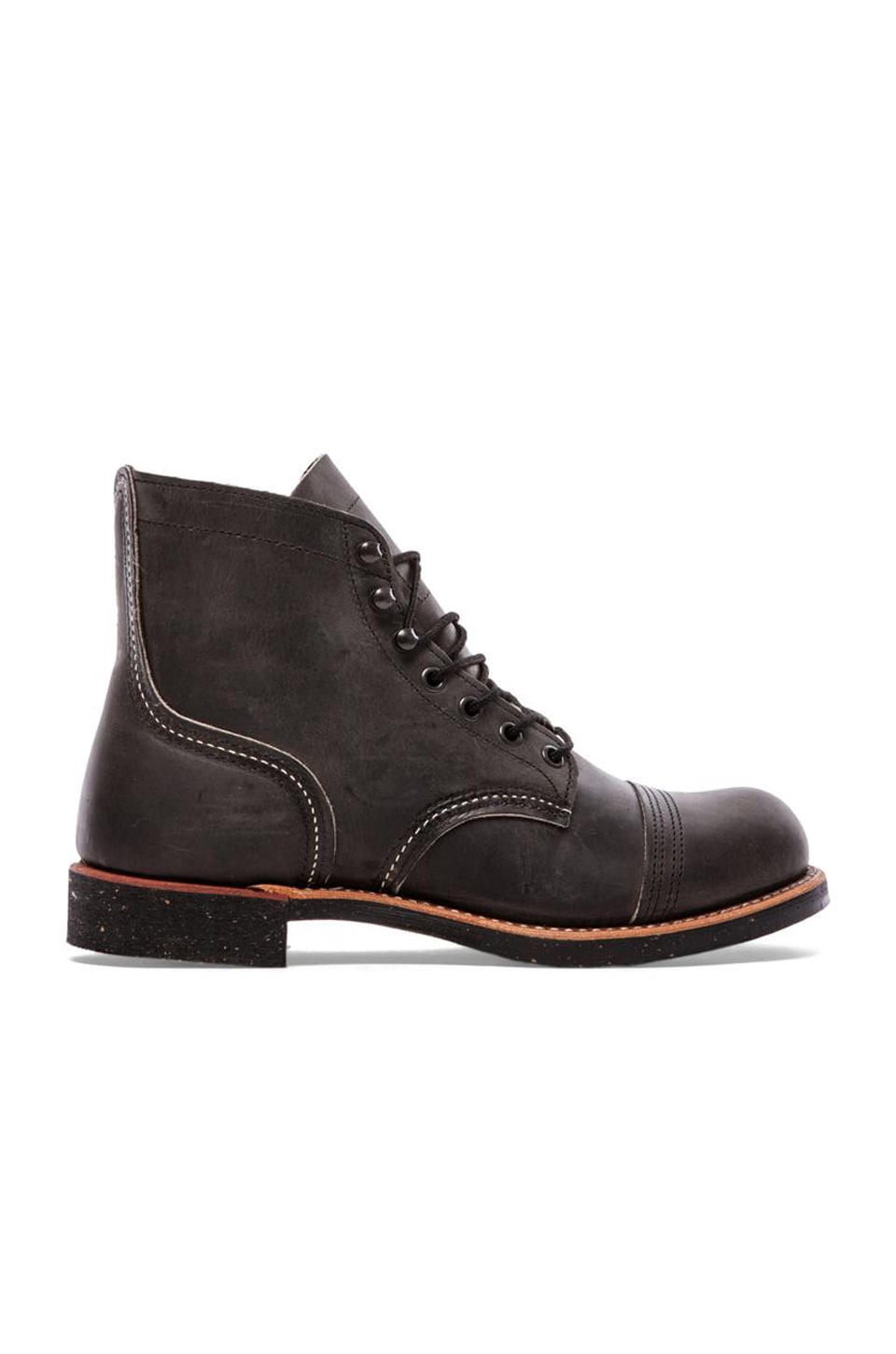 Red Wing Shoes Iron Ranger in Charcoal Rough