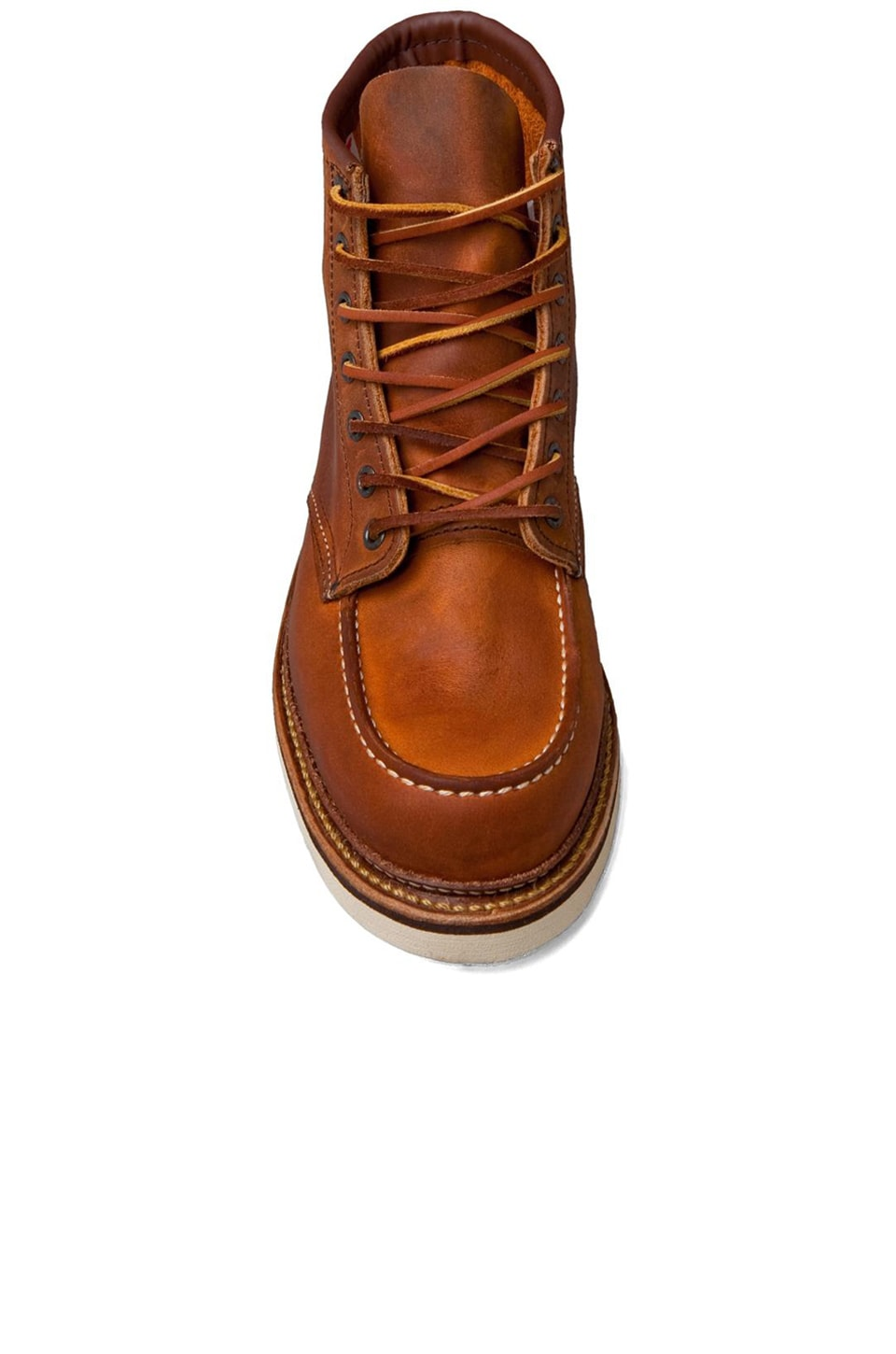 "Red Wing Shoes Classic Lifestyle 6"" Classic Moc in Copper Rough & Tough"