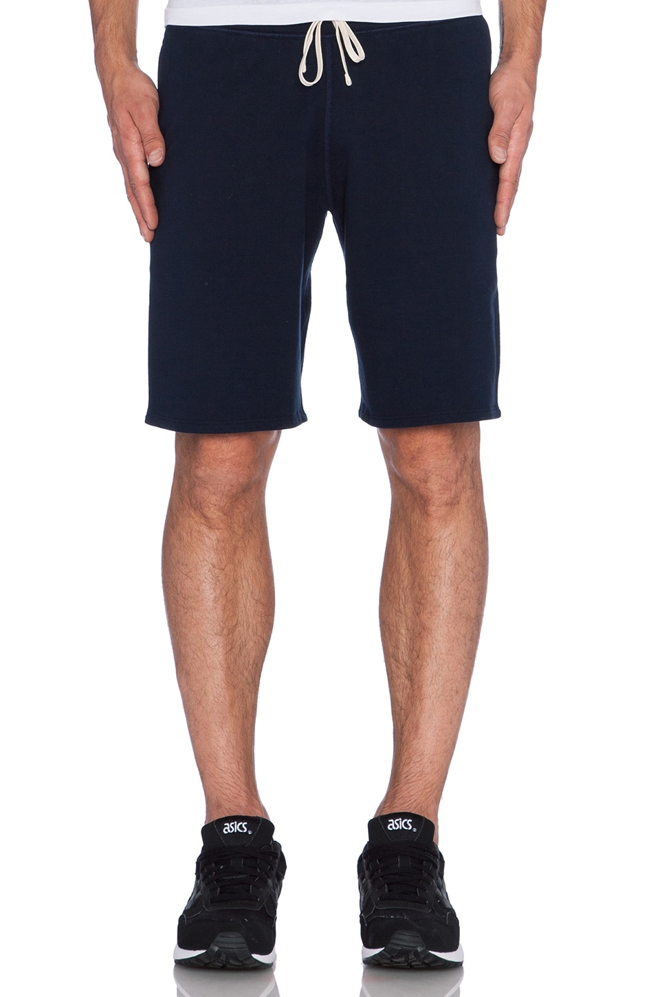 Reigning Champ Core Sweatshort in Navy