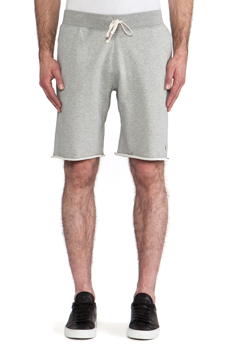 Reigning Champ x Everlast Sporting Goods Cut-Off Sweatshorts in Heather Grey