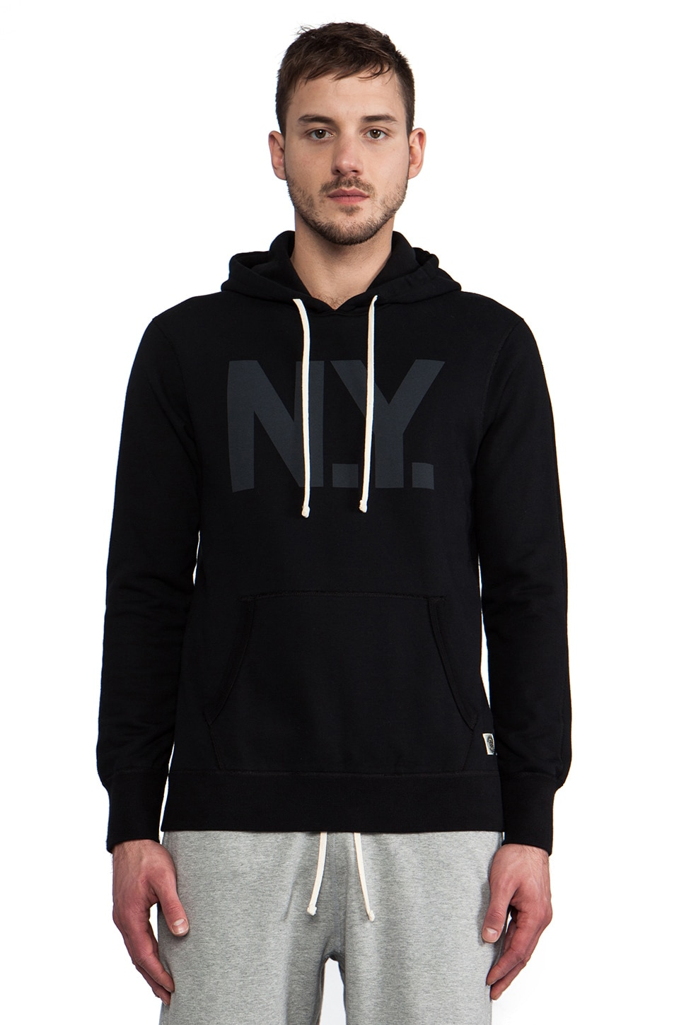 Reigning Champ x Everlast Sporting Goods Pullover Hoodie in Black