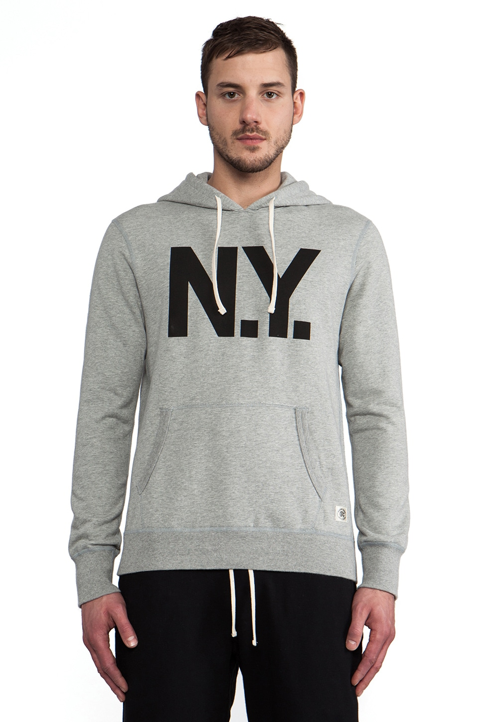 Reigning Champ x Everlast Sporting Goods Pullover Hoodie in Heather Grey