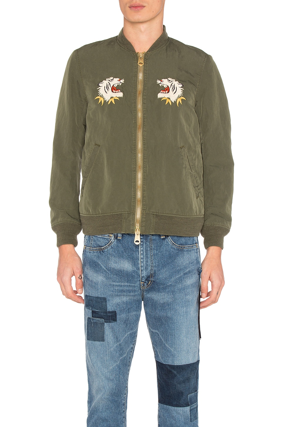 Nylon 66 Alaska Bomber Jacket by Remi Relief