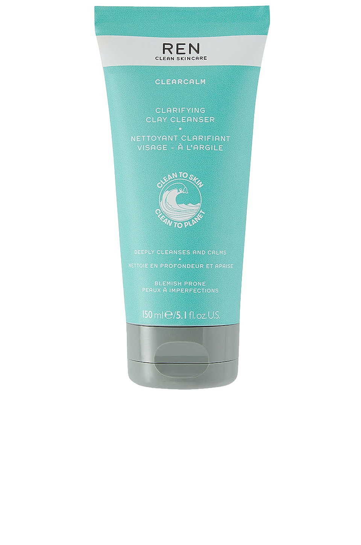REN Clean Skincare Clear Calm Clarifying Clay Cleanser