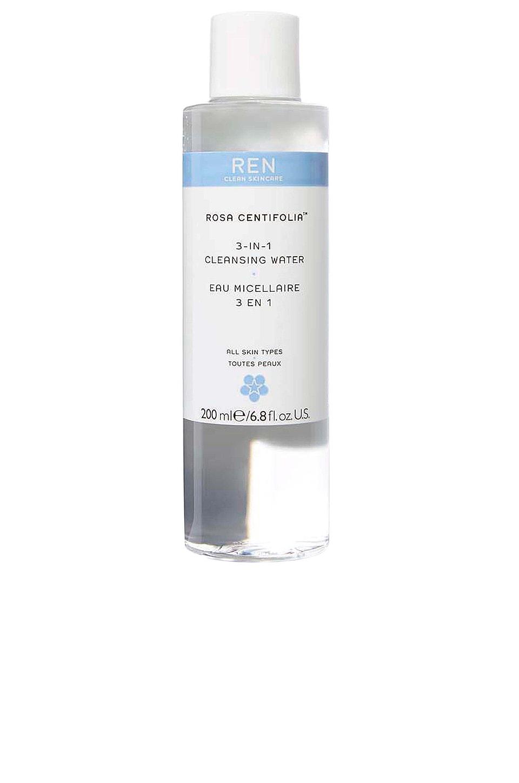 REN Clean Skincare Rosa Centifolia 3-In-1 Cleansing Water
