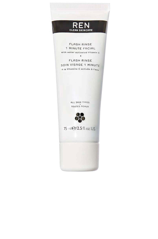 REN Clean Skincare Flash Rinse 1 Minute Facial