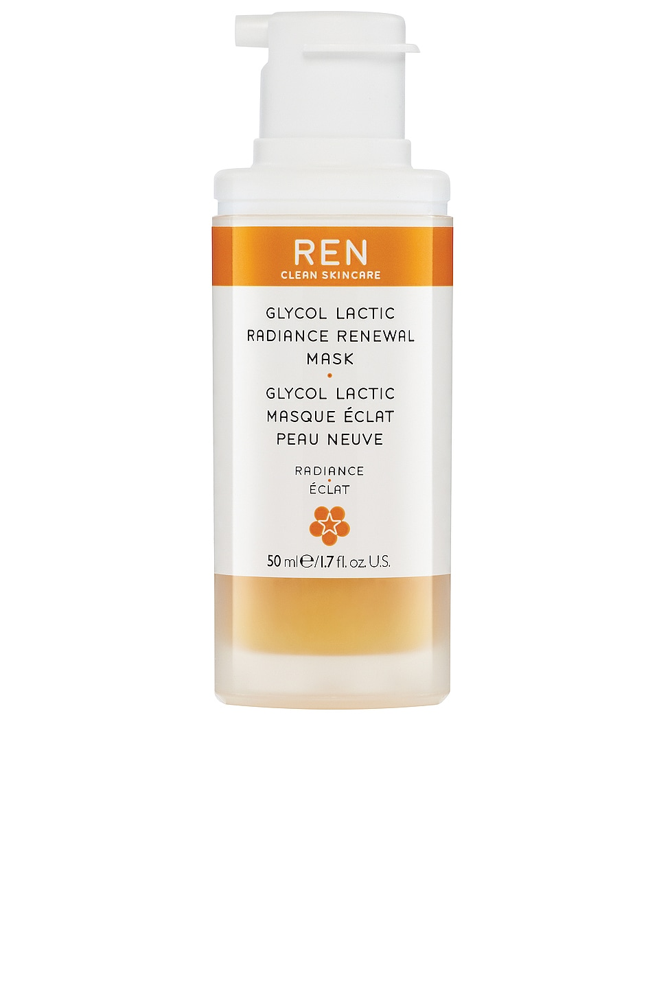 REN Clean Skincare Radiance Glycol Lactic Radiance Renewal Mask