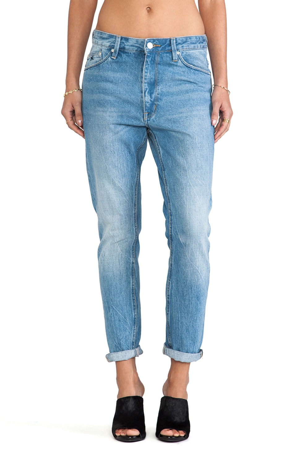 RES Denim Slacker Boyfriend in Rainsong Vintage