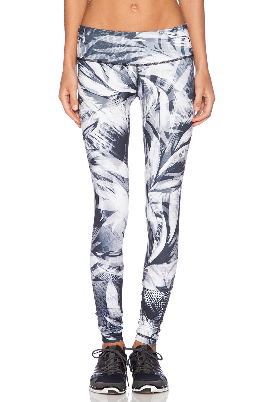 Rese Kori Legging in Black & White Tropic Print