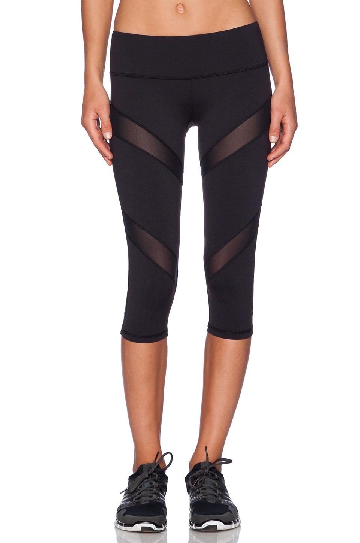 Rese Mia Capri Legging in Black