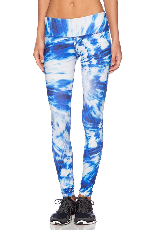 Rese Kori Legging in Blue Whirlpool Print