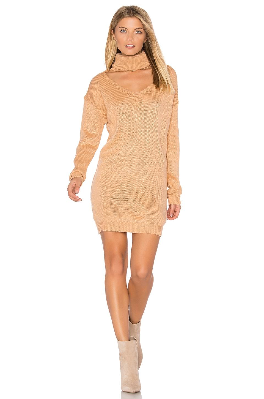 Cut It Out Sweater Dress by REVERSE